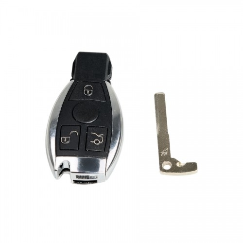 Smart Key Shell 3 Button for Mercedes Benz Assembling with CGDI MB Be Key Perfectly