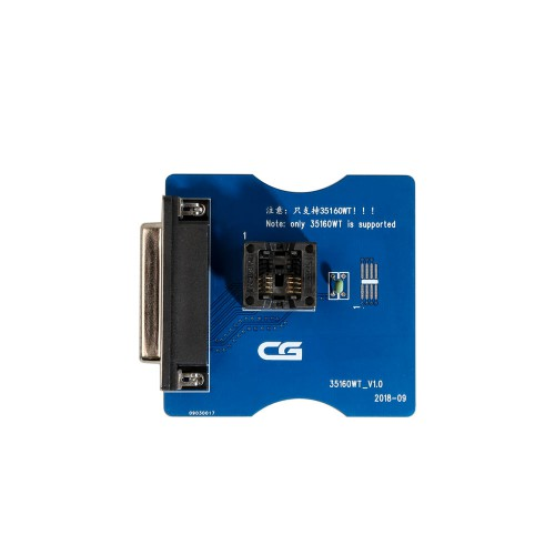 CGPro 35160WT Adapter for 35160WT 35128WT Chip Work with CG Pro 9S12 Fix the Mileage without Emulator