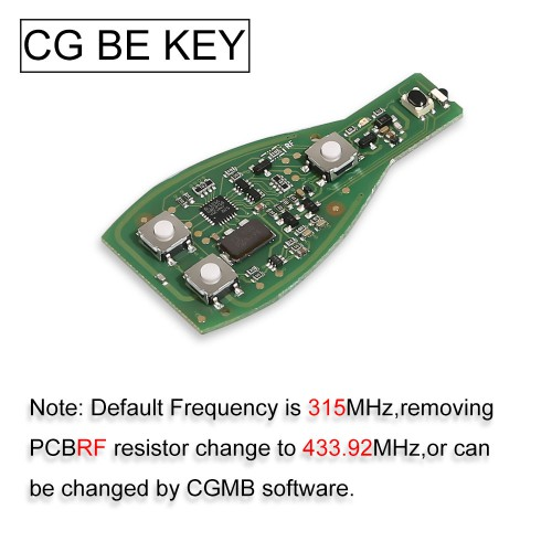 [EU Ship] Original CGDI MB Be Key V1.3 Update Version Support All Mercedes Till FBS3 315MHZ/433MHZ Get 1 Free Token