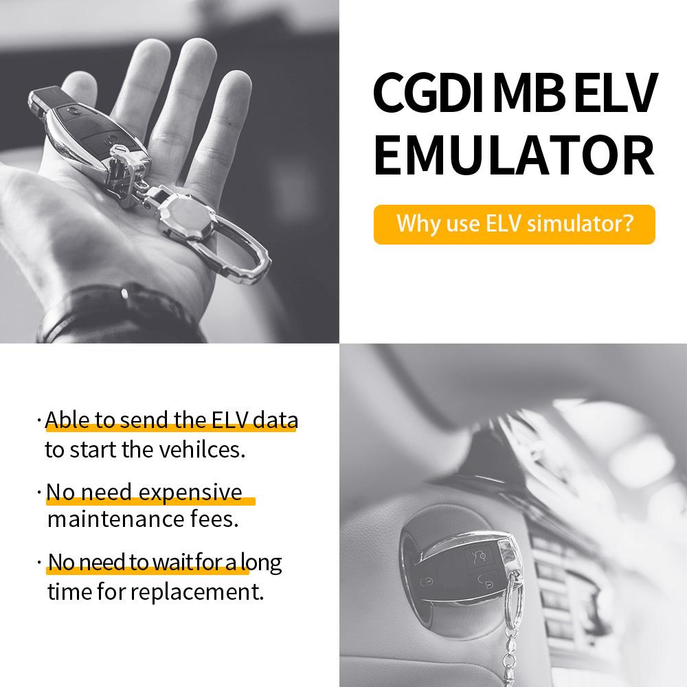 CGDI ELV Simulator Renew ESL for Benz 204 207 212
